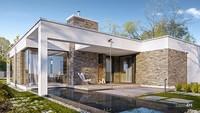 Шикарный одноэтажный жилой дом