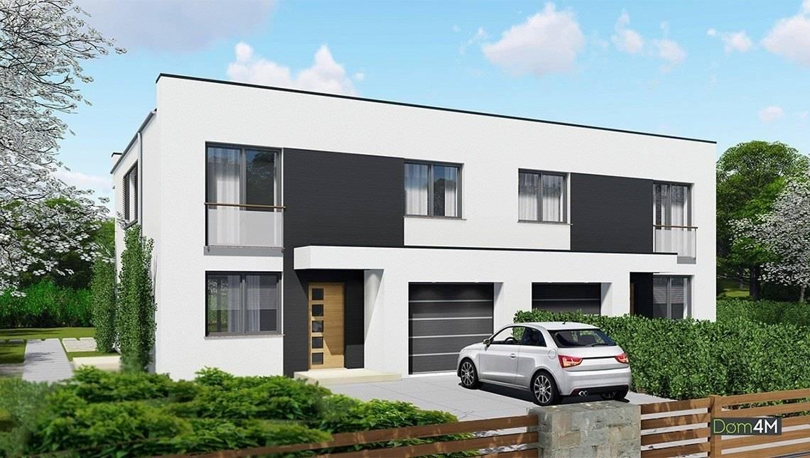 Привлекательный двухэтажный таунхаус с гаражом