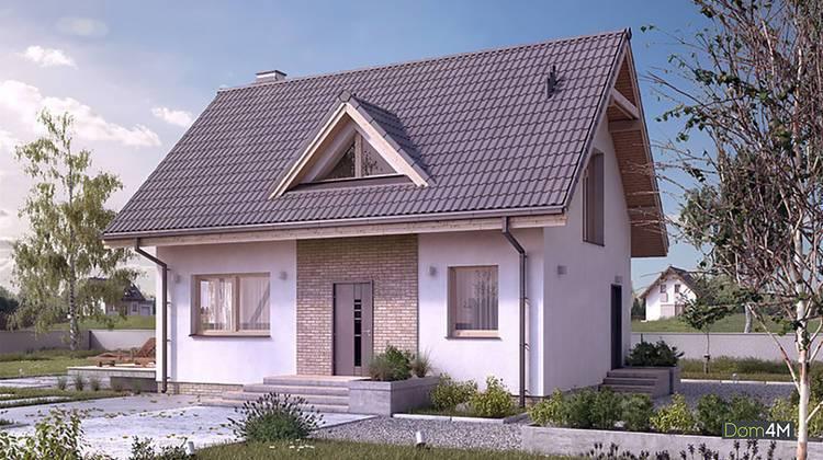 Небольшой двухэтажный дом с тремя спальнями