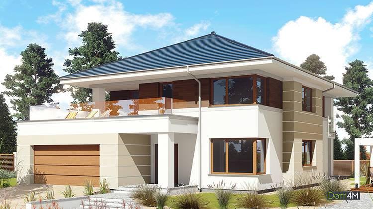 Стильный двухэтажный особняк жилой площадью в 150 квадратов