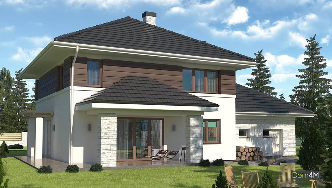 Величественный двухэтажный дом с пятью спальнями