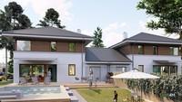 Красивый жилой дом на две семьи с четырьмя спальнями