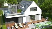 Чертежи красивого загородного дома