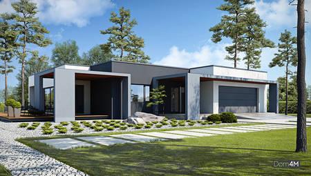 Комфортабельный одноэтажный дом с уникальной планировкой
