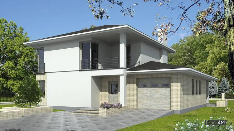 Роскошный жилой дом для загородного участка