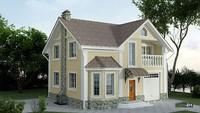 Двухэтажный дом с отдельной гостиной