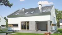 Великолепный двухэтажный дом в серых оттенках