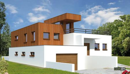 Планировка восхитительного жилого дома в стиле минимализма площадью 180 кв. м