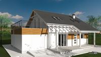 Уникальная планировка двухэтажного дома с 4 спальнями