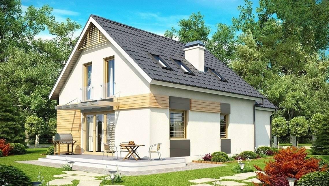 Проект дома с гаражом, на две семьи