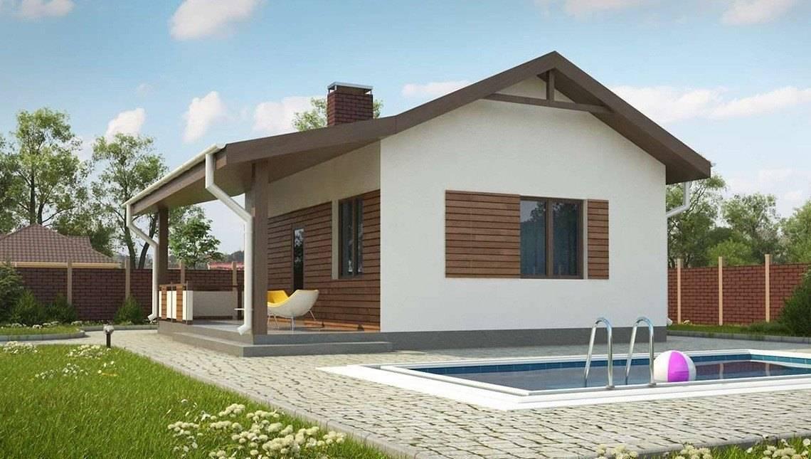 Проект удобной бани с террасой