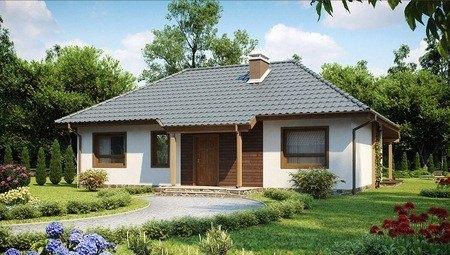 Проект дома в традиционном стиле