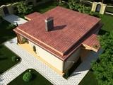 Проект современной дачи с плоской крышей