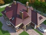 Роскошный проект большого и красивого особняка