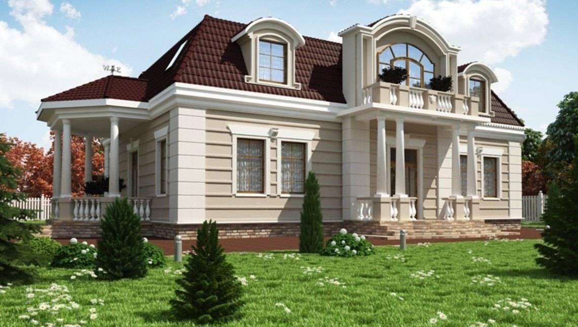 Роскошная усадьба с пятью большими спальными комнатами