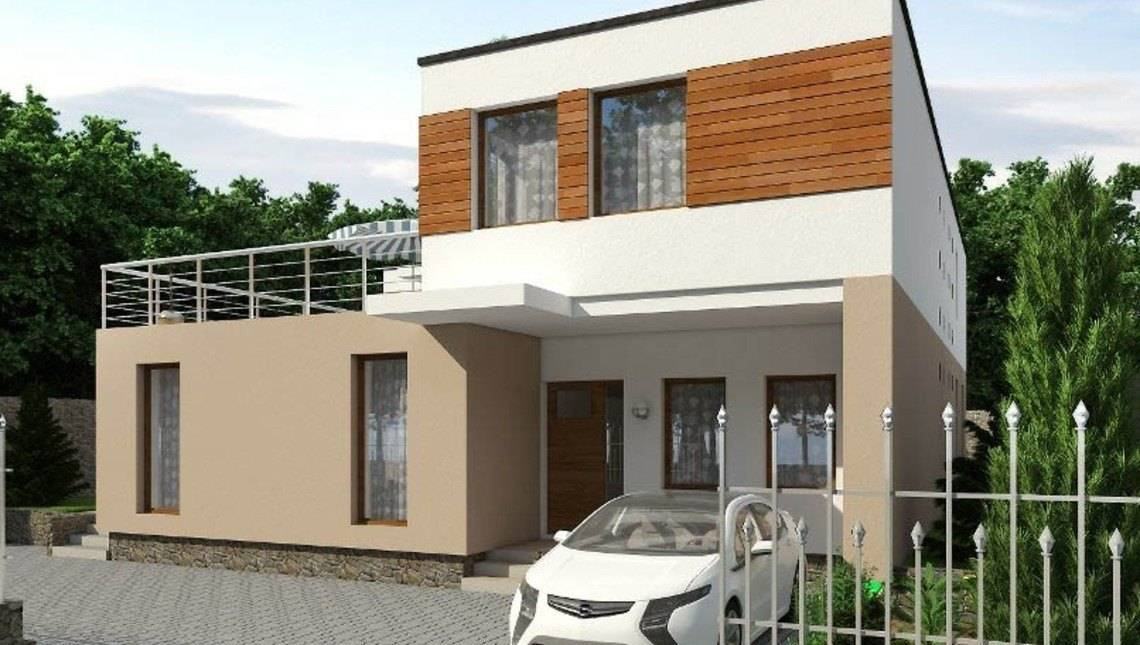 Угловые двухэтажные дома проекты фото способов