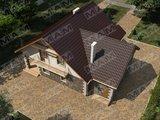 Усадьба с кирпичным фасадом