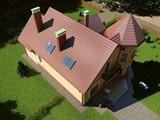 Кукольный домик - шикарный проект особняка