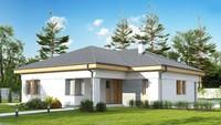 Одноэтажный дом по типу 4M174 без гаража