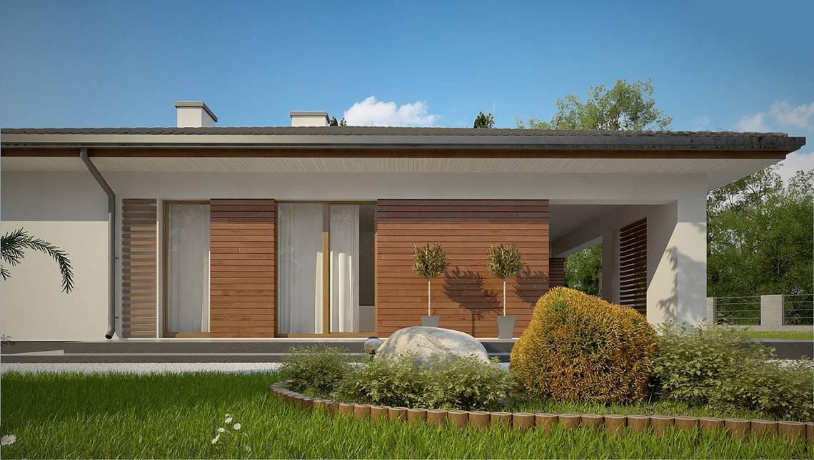 Классический одноэтажник с просторной террасой