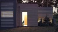 Шикарный современный одноэтажный дом