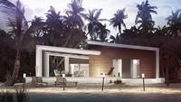 Современный дом с комфортной террасой