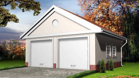 Классический гараж на две машины