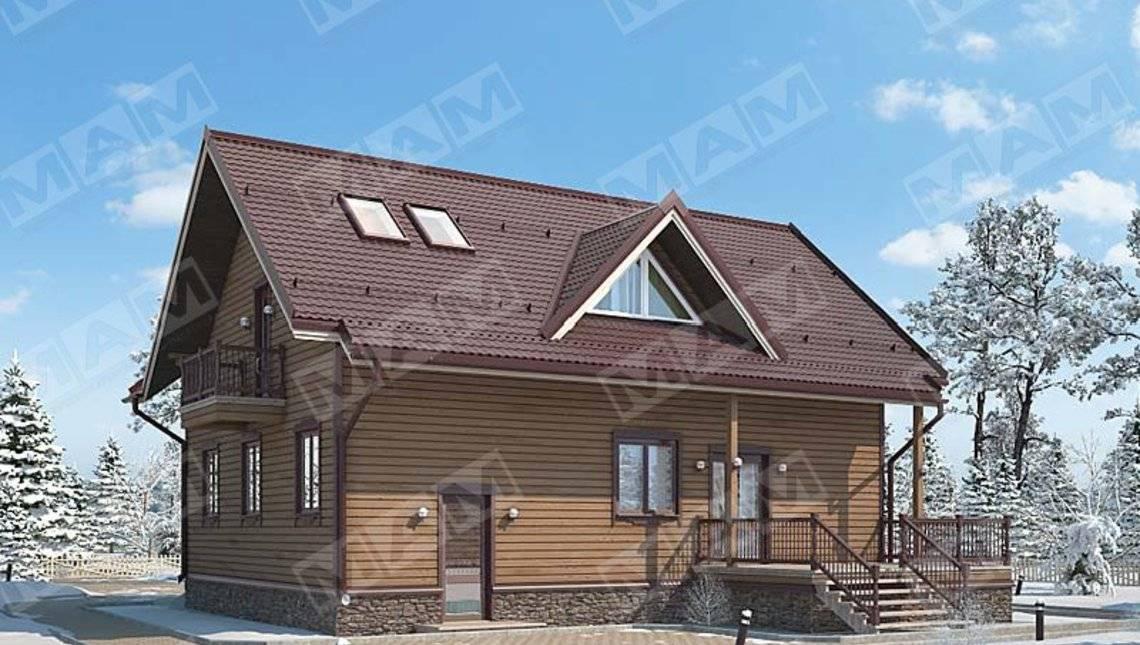 Проект загородного дома площадью 220 m²