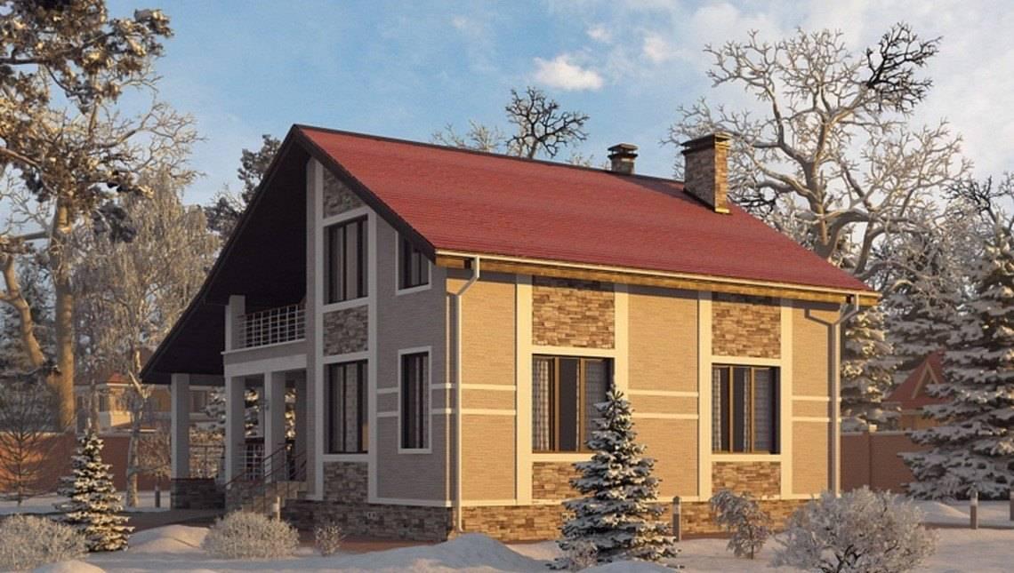Архитектурный проект особняка с зимним садом