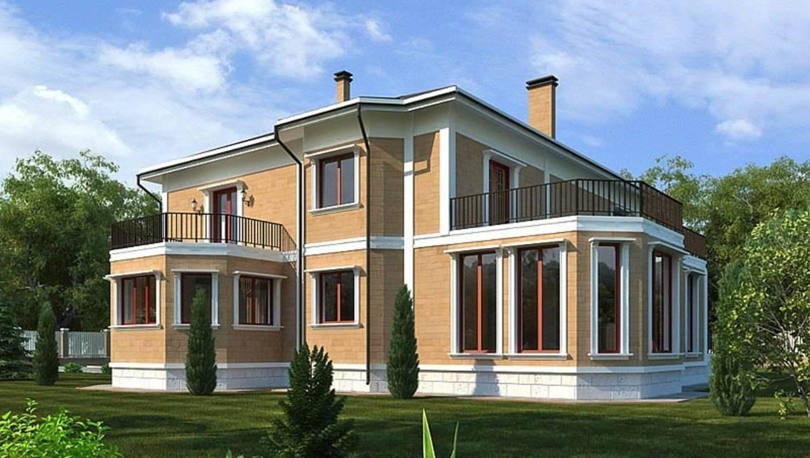 Проект загородного необычного дома для постоянного проживания