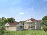 Проект загородной виллы, площадью 220 m²