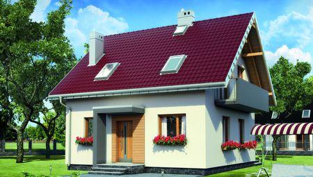 Прекрасный особняк с площадью около 100 m²