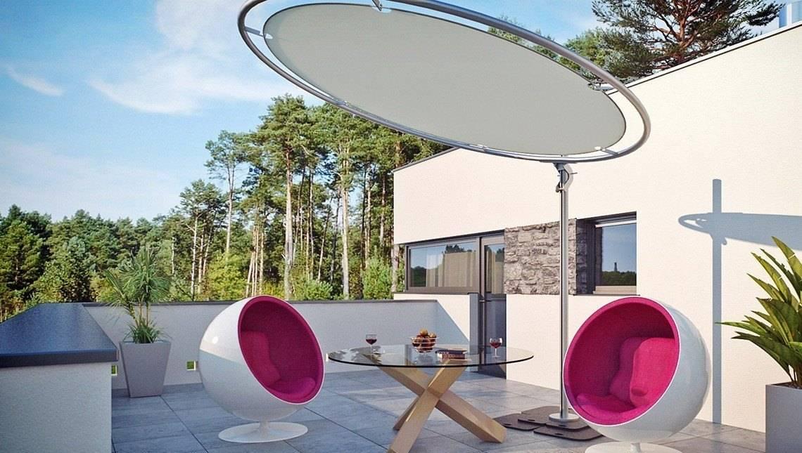 Проект особняка в стиле модерн