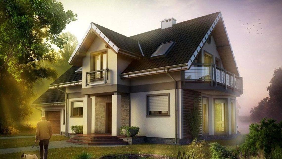 Проект стильного дома с выходом в сад