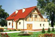 Большой загородный коттедж с современным дизайном и площадью 180 m²