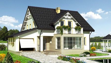 Архитектурный проект комфортабельного коттеджа с площадью 207 m²