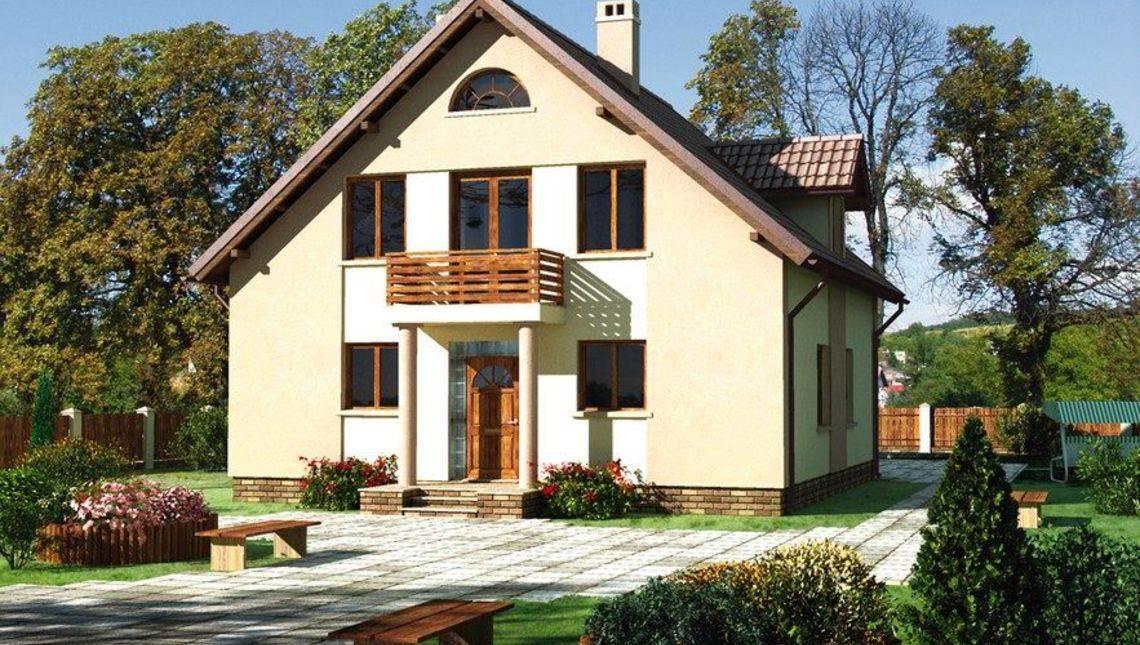 Небольшой и просторный загородный домик с шестью спальнями