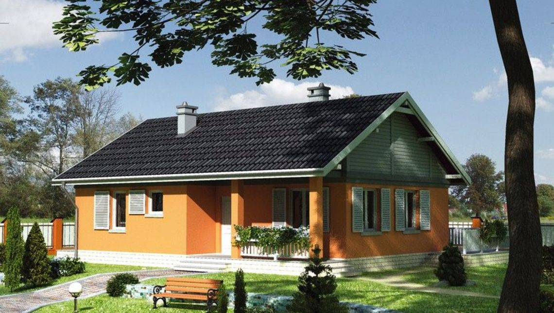 Проект комфортабельного дома для небольшой семьи