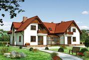 Проект оригинального дома с площадью 150 m²