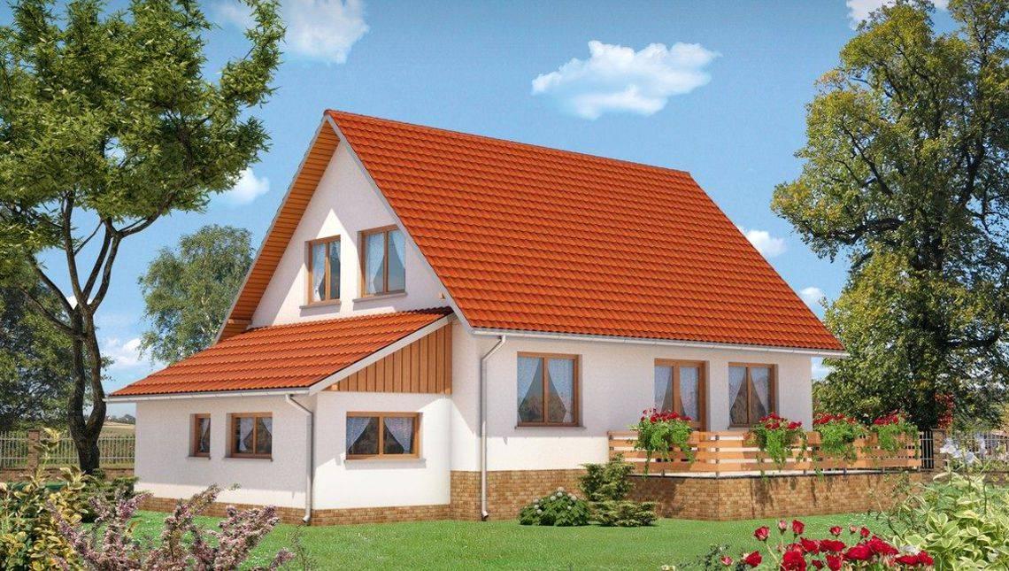 Оригинальный загородный дом с пятью большими комнатами