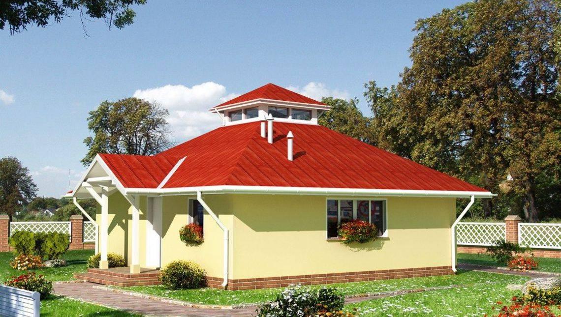 Примечательный проект домика в псевдокитайском стиле