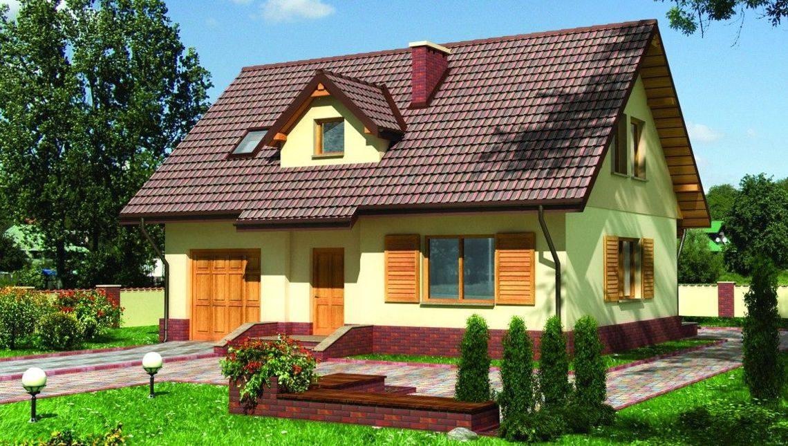 Проект мансардного дома до 150 m²