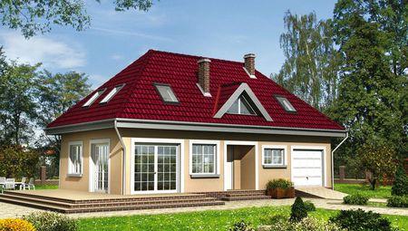 Уютный жилой дом для дружной семьи