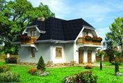Уникальный проект двухэтажного особняка с цокольным этажом