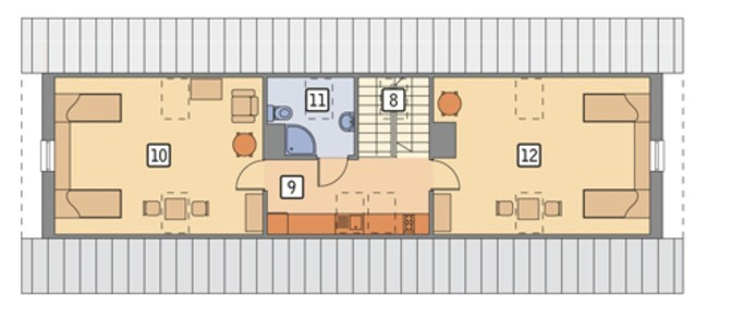 Проект конюшни с жилыми апартаментами