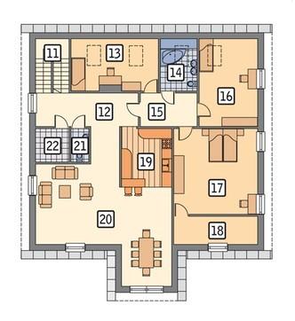 Проект торгового комплекса с жилым помещением на втором этаже