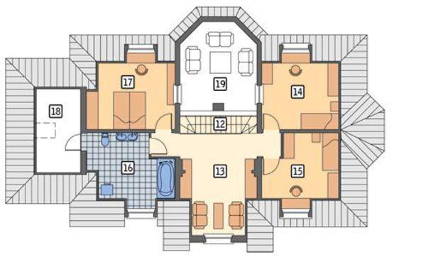Проект великолепного двухэтажного дома