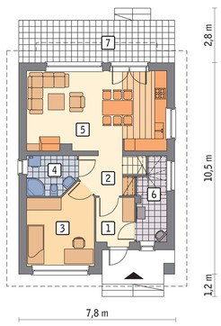 Проект интересного дом на 4 спальни