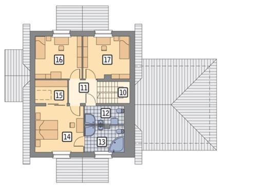 Красивый двухэтажный дом с гаражом