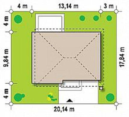 Стильный двухэтажный дом площадью до 200 m²